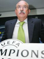Juande vs Serra Ferrer en Champions